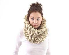 VENTA chimenea Chunky Knit bufanda cuello calentador | El London