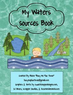This is a great introduction or lesson on water sources (streams, rivers, ponds, lakes, and oceans).  Included in this set:~a 14 page (1/2 shee...