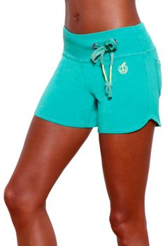 """4"""" Jeans Style Bamboo Sport Shorts. Ultra-comfy yoga shorts from organic bamboo. $40"""