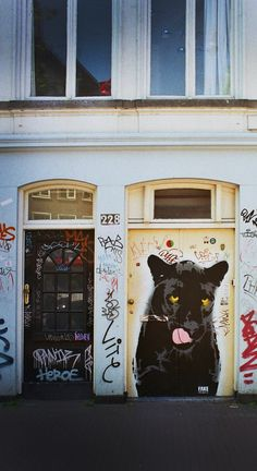 Black Panther, Street art, Amsterdam