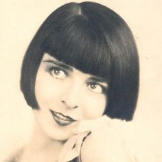 Colleen Moore (August 19, 1899 – January 25, 1988) the second most famous bob from the silent movie era