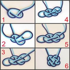 Brown Knot Necklace Bead Crochet Double Rope by EdoraJewels (Diy Necklace Beads)Discover recipes, home ideas, style inspiration and other ideas to try. Jewelry Knots, Macrame Jewelry, Fabric Jewelry, Jewelry Crafts, Handmade Jewelry, Handmade Beads, Jewelry Necklaces, Sailor Knot Bracelet, Knot Necklace