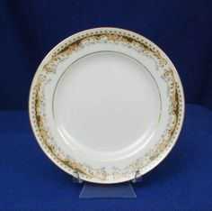 Signature Japan Queen Anne Pattern 113 White Bread & Butter Plate #Signature