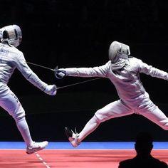 Szilágyi Áron (j) és az amerikai Daryl Homer asszója a riói nyári olimpia férfi…