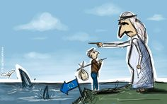 Syrians who want an 'honorable life'say that's something they can hope for inwestern Europe, not the Gulf states.