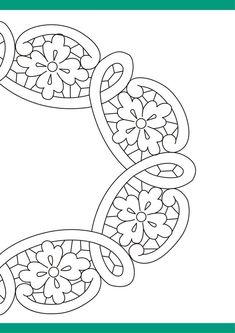 47 riscos para pintura em tecido Cutwork Embroidery, Embroidery Letters, Hand Embroidery Flowers, Embroidery Stitches, Machine Embroidery, Embroidery Designs, Celtic Patterns, Doodle Patterns, Quilt Patterns