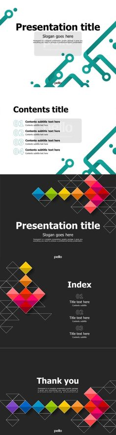 Great and impressive Powerpoint presentations are just one click away! With Pello, you can enjoy user-friendly Powerpoint templates with stylish designs and immense visual appeal. Choose from our wide variety of business-inspired themes!