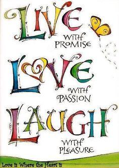Live...Love...Laugh