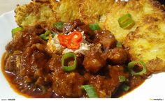 Czech Recipes, Ethnic Recipes, Snack Recipes, Snacks, Pork Tenderloin Recipes, Chana Masala, Stew, Chili, Food And Drink