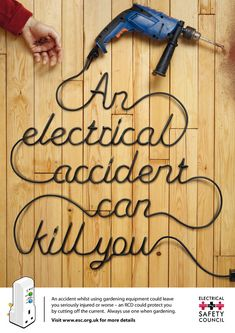 Electrical Safety Campaign on the Behance Network