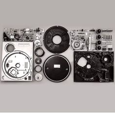 The complexity of beauty Technics 1200.