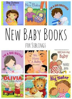 New Baby Books for Siblings Best New Baby Books for Siblings: A great collection of new baby books for big brothers and big sisters.Best New Baby Books for Siblings: A great collection of new baby books for big brothers and big sisters. Big Sibling Gifts, New Sibling, Sibling Photos, Baby Presents, New Baby Gifts, Toddler Books, Baby Books, Children's Books, Kid Books
