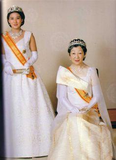Crown Princess Masako and Empress Michiko (Empress consort) of Japan