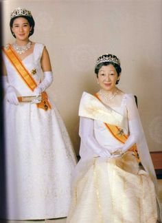 Crown Princess Masako and Empress Michiko (Empress consort) of Japan