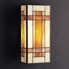 Have to have it. Kichler Art Glass Creations Wall Mount Sconce - 31H in. Bronze $140.00
