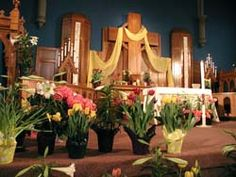 Easter at LaSalle St. Church