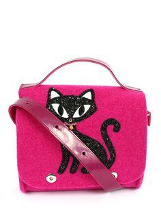 Купить RoRo розовая сумка из шерсти с объемным декором (198811), цена на  сумку 3f3c9042e7e