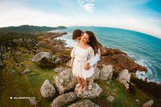 Kalina Grabowski - Fotografia de Casamentos, gestantes, newborn, infantil e família, em Joinville e: Ariane e Laudifer, ensaio/casamento na Guarda do Embaú.