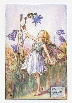 The Harebell Fairy - Cicely Mary Barker
