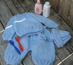 Buy it on Etsy! Cozy Sweaters, Blue Sweaters, Boy Clothing, Clothes, Baby Boy Outfits, Baby Blue, Cute Babies, Knitted Hats, Dinosaur Stuffed Animal