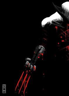 Wolverine ( X-Men ) // Marvel // Art Marvel Wolverine, Marvel Comics, Logan Wolverine, Bd Comics, Marvel Vs, Anime Comics, Marvel Heroes, Wolverine Tattoo, Comic Book Characters