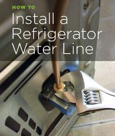 Refrigerator Ice Maker Water Line Installation Kit You