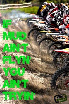 We love mud. www.SurdykeYamaha.com