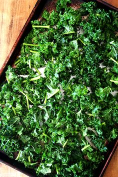 Kale chips. I have to try them.