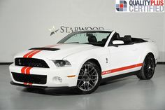 2012 Ford Mustang Shelby GT500 Convertible Dallas, Texas   Starwood Motors