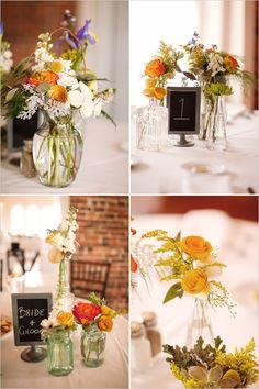 flowers + jars