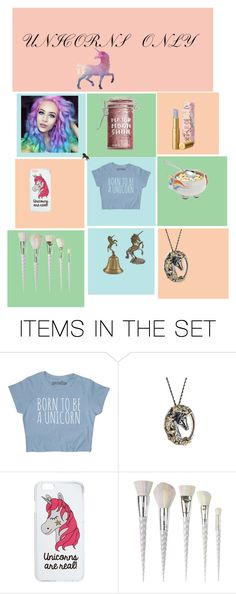 """""""Unicorn"""" by mysticalmonster15 ❤ liked on Polyvore featuring art"""