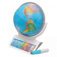 This globe is packed with 2.5 hours of audible educational content as well as more than 30 educational activities.