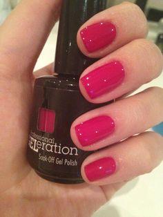 Blushing Princess Jessica Geleration, Nail Colors, Colours, Pretty Hands, Nail Inspo, Cute Nails, Gel Polish, Work Images, Blush