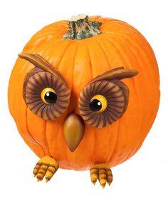 Another great find on #zulily! Owl Pumpkin Wear Décor #zulilyfinds
