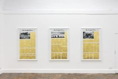 """""""Let The Sun Protest"""" exhibition at Marie-Laure Fleisch Gallery, Rome Installation photo by Giorgio Benni"""