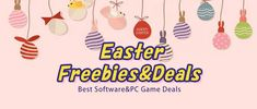 [Do Not Miss] 2021 Easter Giveaway Campaign - Free Software and Free Games Easter Sale, Sale Promotion, Egg Decorating, Free Games, Giveaway, Software, Campaign