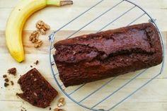 Live to Bake: Čokoládovo-banánový chlebíček Sweet Recipes, Banana Bread, Steak, Cheesecake, Food And Drink, Beef, Breakfast, Live, Cakes