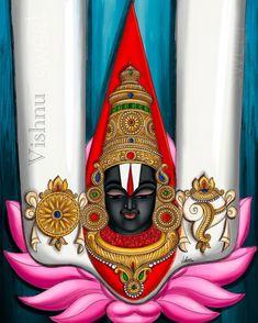 Mysore Painting, Lord Ganesha Paintings, Lord Balaji, Divine Mother, Indian Folk Art, Folk Embroidery, Hindu Deities, Art Drawings Sketches Simple, Indian Paintings