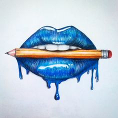 sketch lips step by step / sketch lips & sketch lips step by step & sketch lips mouths & sketch lips kiss & sketch lipstick & sketch lips cartoon & sketch lips anime & sketch lips easy Cool Art Drawings, Pencil Art Drawings, Art Drawings Sketches, Realistic Drawings, Colorful Drawings, Easy Drawings, Drawing Lips, Lip Art, Prismacolor Art