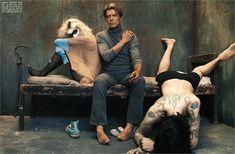 David Bowie by Steven Klein, 2003