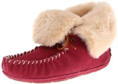fdf904e39672 Acorn Women s Sheepskin Moxie Bootie Slipper Bootie slipper featuring  sheepskin lining