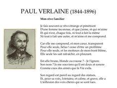 Paul Verlaine (1844-1896) - Mon rêve familier