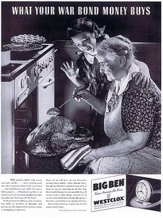 Vintage Thanksgiving Advertising in the Days of Old