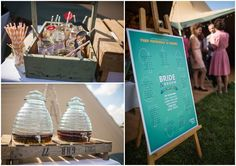 Boho Planned Weddings: Nat and Steve�s Fun Filled Peach and Aqua Tipi Wedding. By Binky Nixon