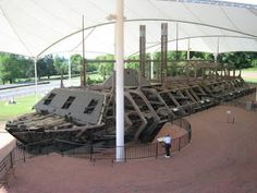 USS Cairo On Dec. 12, 1862, the ironclad gunboat USS Cairo became the first ship in history to be sunk by an electrically detonated torpedo. The vessel sunk in 36 feet of Yazoo River water, was covered by silt and remained for more than a century before it was discovered. Now the boat and its display of artifacts are part of the Vicksburg National Military Park