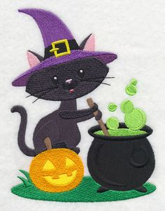 Toil and Trouble Cat