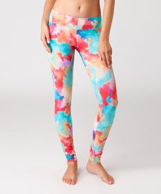 Take a look at this Red Surf Leggings by O'Neill on #zulily today!