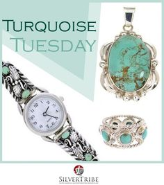 Let's not forget it's Turquoise Tuesday! http://www.silvertribe.com