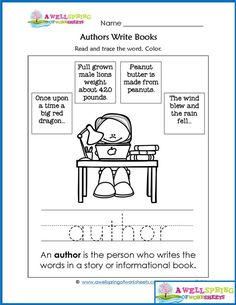 Parts of a Book - Worksheets & Vocabulary Cards by A Wellspring of Worksheets Kindergarten Library, Kindergarten Language Arts, Elementary Library, Library Skills, Library Lessons, Shapes Worksheet Kindergarten, Science Worksheets, Concepts Of Print, Basic Sight Words