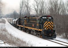 RailPictures.Net Photo: LAL 425 Livonia, Avon & Lakeville Alco C425 at Lakeville, New York by Mike Stellpflug